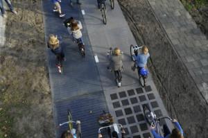 Solar Bike Path